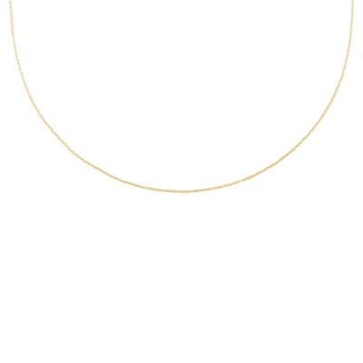 Halskette, 925 Silber, vergoldet, Initials