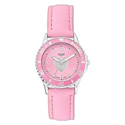 Regal meisjeshorloge in roze sieradendoos__1036080__1