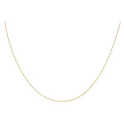 9 Karaat ketting figaro diamond cut__1047275__2