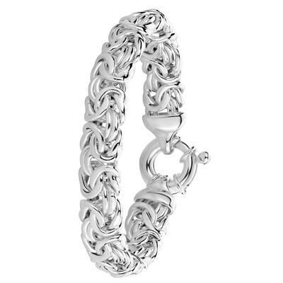 Armband, 925 Silber, Königsglied