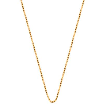 Eve gold plated ketting met venetiaanse schakel__1015594__0