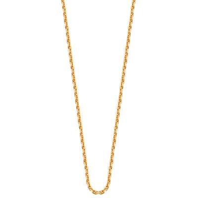 Eve gold plated ketting met anker schakel__1015595__0