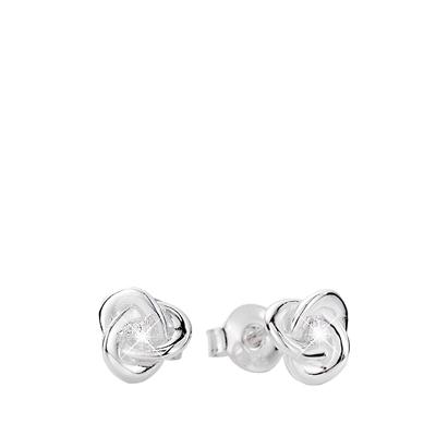 Silberohrringe Knoten mit Zirkonia__1016542__0