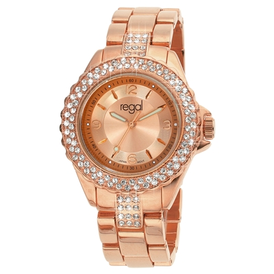 Regal horloge Glamour rosekleurige band R1443R-732__1017578__0