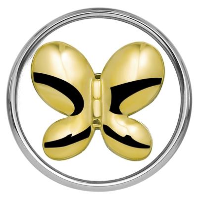 Stahl Chunk Schmetterling vergoldet__1018399__0