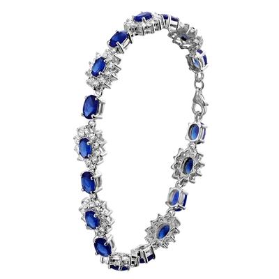 Zilveren armband blauwe zirkonia__1019430__0