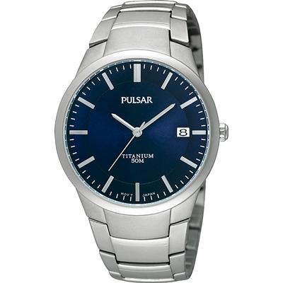 Pulsar titanium heren horloge PS9011X1__1019817__0