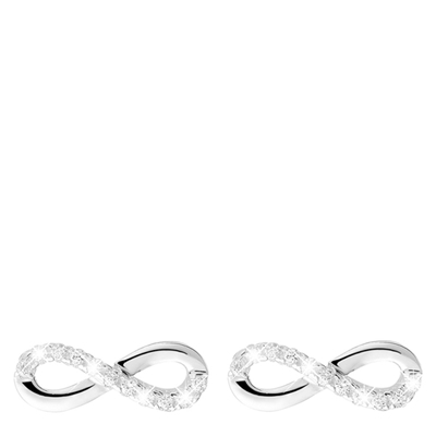 Silberne Infinity-Ohrringe mit Zirkonia__1022481__0