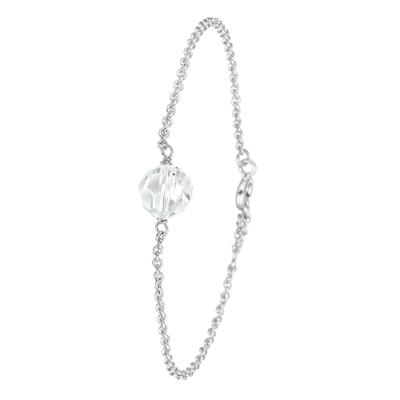 Armband in 925 Silber mit Swarovski-Kugel__1022509__0