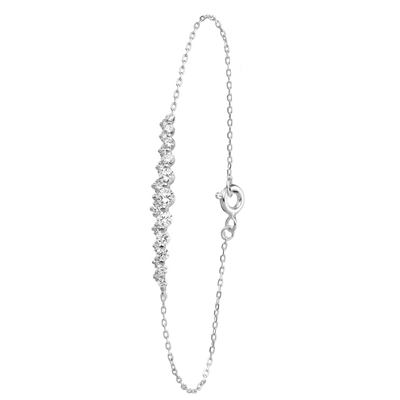 Armband, 925 Silber, mit Zirkonia__1022576__0