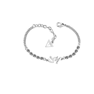 Guess rhodiumplated armband met Swarovski kristal__1034970__0