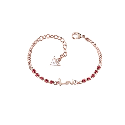 Rotvergoldetes Armband mit Swarovski-Kristall von Guess__1034972__0