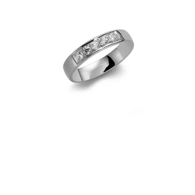 Palladium trouwring  diamant Lupine H184P__1036517__0