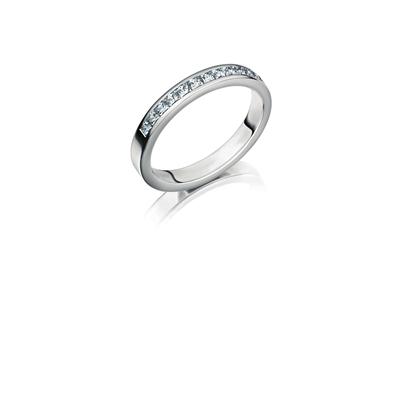 Palladium trouwring  diamant Campanula H190P__1036520__0
