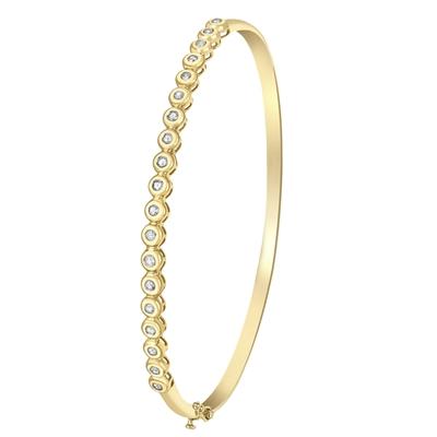 9 Karaat tennisarmband met diamant__1045264__0