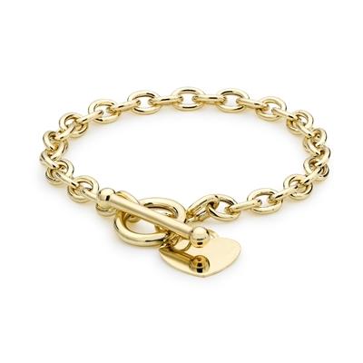 9 Karaat armband hart met t-bar sluiting__1047148__0