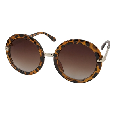 Montini zonnebril rond panterprint__1047344__0