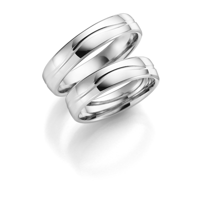 9 K witte trouwring Iris Heren H13W__1049526__0