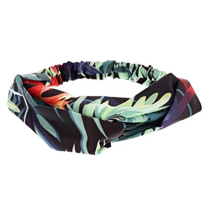 Stoffen haarband in tropcial print__1051753__0