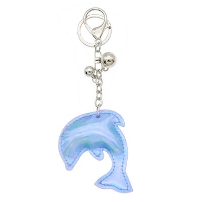 Blauwe sleutelhanger dolfijn__1052358__0