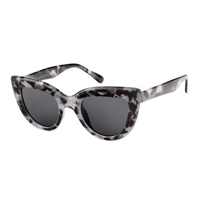 Marmerpatroon zonnebril met donkere glazen__1054416__0