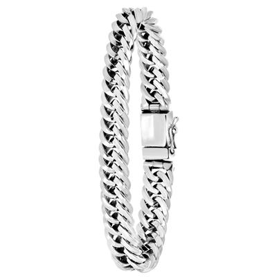 Silberarmband mit Gourmetglied__1054910__0