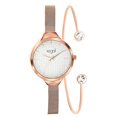 Regal Armbanduhr & Armband in Geschenkbox__1055341__0