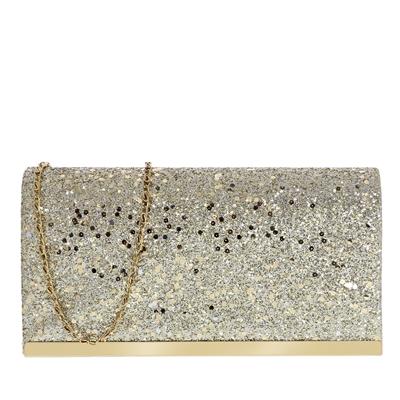 Goudkleurige glitter clutch met hengsel__1057464__0