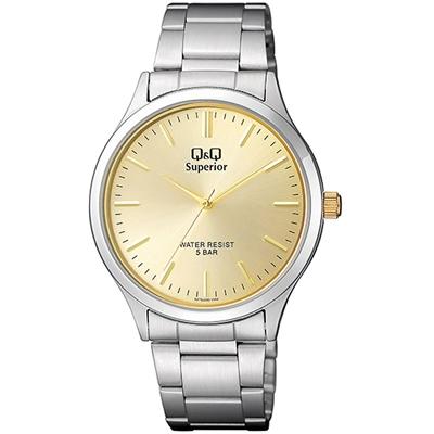 Q&Q Superior Armbanduhr mit Edelstahlarmband__1057631__0