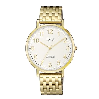 Q&Q Armbanduhr mit goldfarbenem Edelstahlarmband__1057845__0