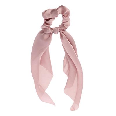 Roze scrunchie met sjaaltje__1058345__0