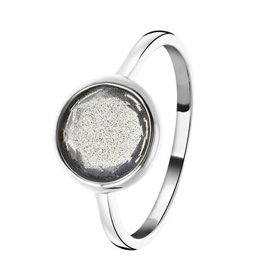 Zilveren ring Gemstone labradorite