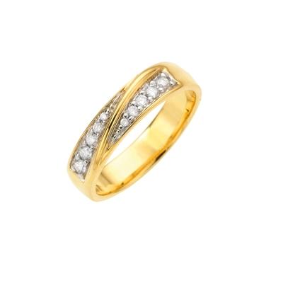 Diamanten Ring 10st 0,20ct__1003318__0