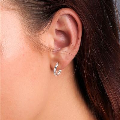 925 Silber Ohrringe Rosé/Silber__1025610__1