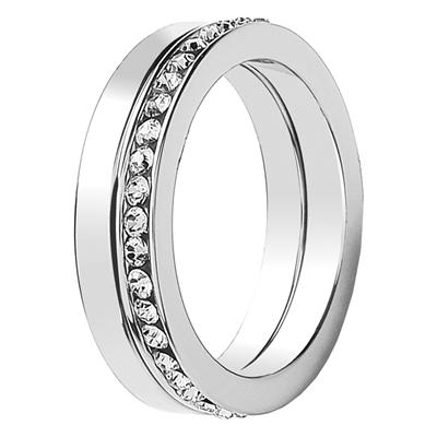 Buckley London rhodiumplated ring kristal large__1030425__0