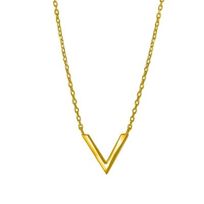 Silber-Kette mit V vergoldet__1044418__0