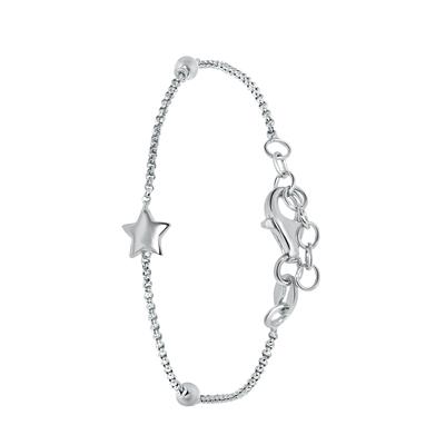 Silbernes Kinderarmband Stern__1044171__0