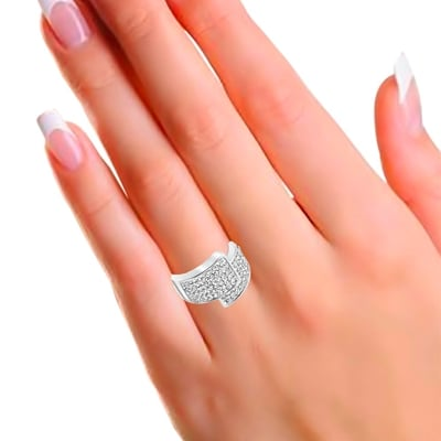 Stalen ring met kristal__1043380__1