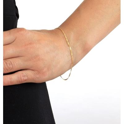 9 Karaat armband gourmet twist__1047129__2