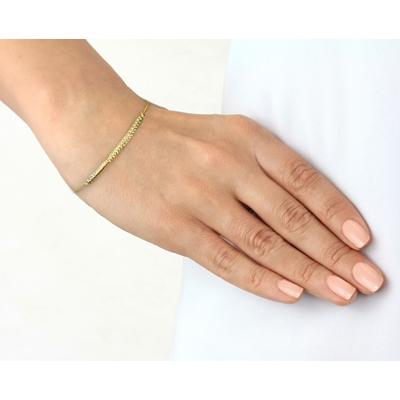 9 Karaat armband fantasie diamond cut__1047169__2