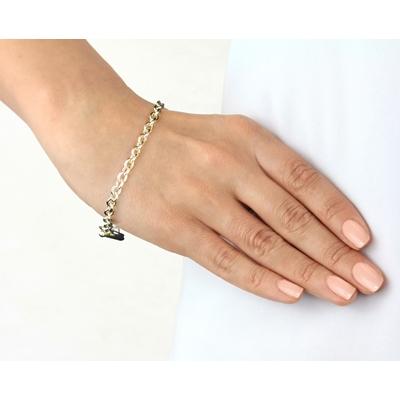 9 Karaat armband met t-bar sluiting