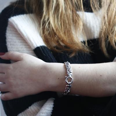 Silberarmband Königsglied 20 cm__1009065__1