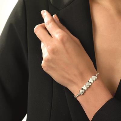 Guess rhodiumplated armband Swarovski kristal__1048150__1