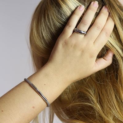 Stalen armband mesh bar__1053553__1