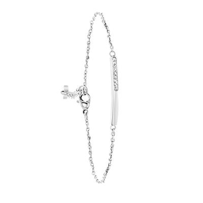 Stalen armband bar met kristal__1053985__0