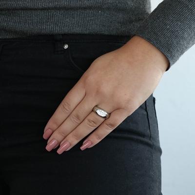 Stalen ring met kristal__1053566__1