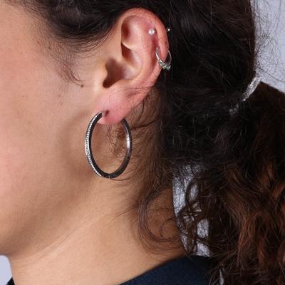 Ohrringe aus Edelstahl, Kristall__1022154__1