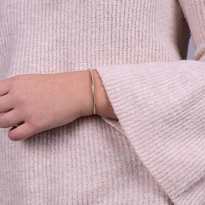 Armband aus 585 Gelbgold mit Diamant (0,16 ct)