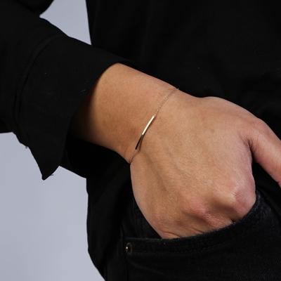 Armband aus 585 Gelbgold, Steg__1055239__1