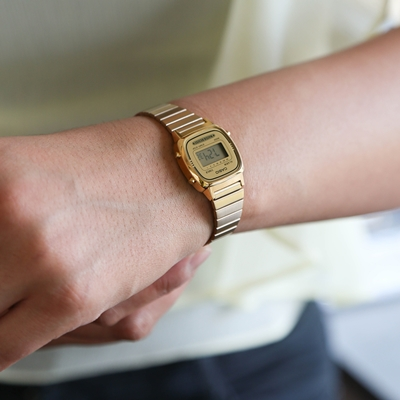 Casio Retro horloge LA670WEGA-9EF